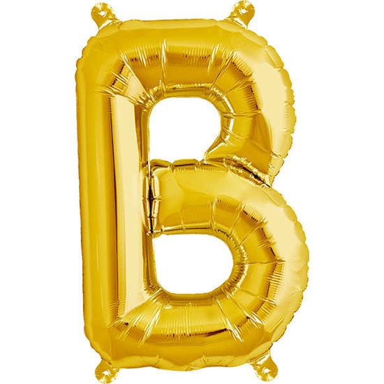 Northstar Ballon - letters - goud - 40 cm - Northstar - B