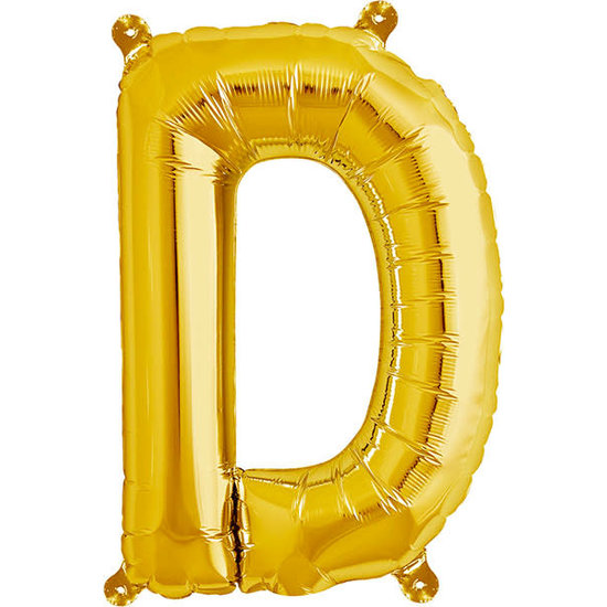 Northstar Ballon - Buchstaben - Gold - 40 cm - Northstar - D
