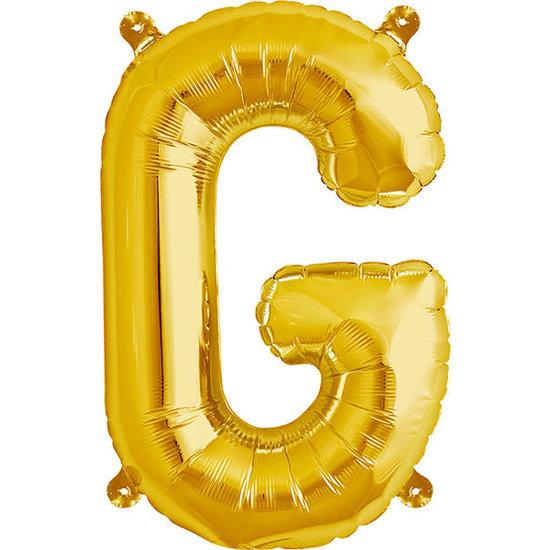 Northstar Ballon - Buchstaben - Gold - 40 cm - Northstar - G