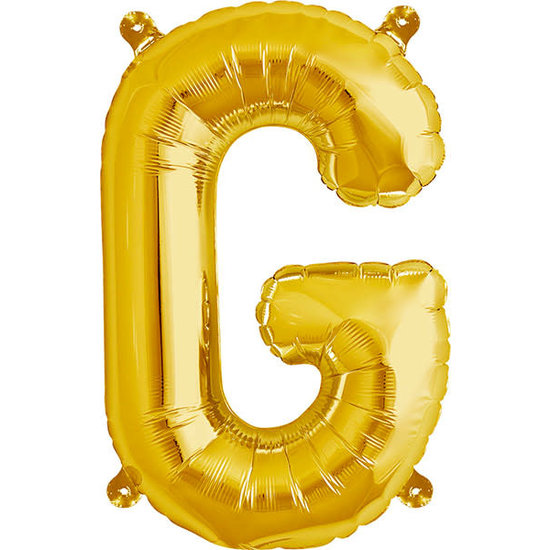 Northstar Ballon - letters - goud - 40 cm - Northstar - G