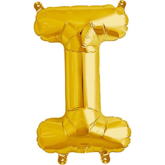 Northstar Balloon - letters - gold - 40 cm - Northstar - I