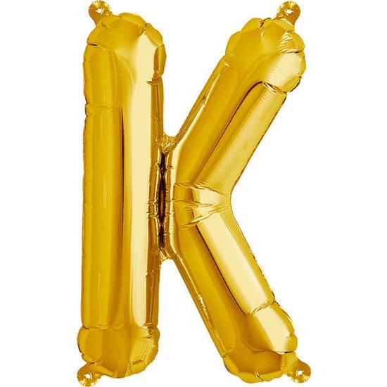 Northstar Ballon - letters - goud - 40 cm - Northstar - K