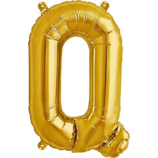 Northstar Ballon - letters - goud - 40 cm - Northstar - Q