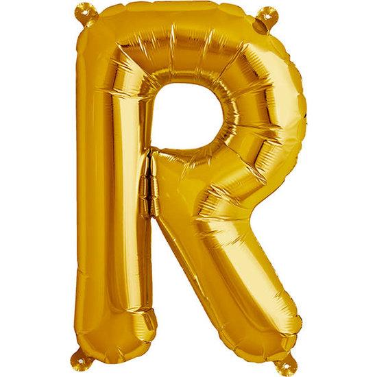 Northstar Ballon - letters - goud - 40 cm - Northstar - R