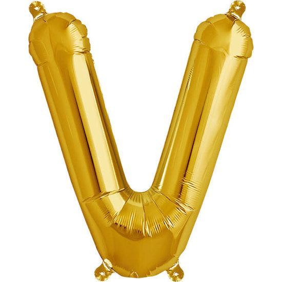 Northstar Ballon - Buchstaben - Gold - 40 cm - Northstar - V
