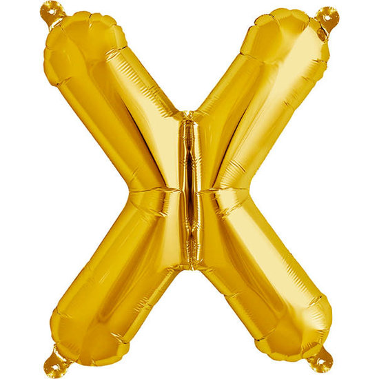 Northstar Ballon - Buchstaben - Gold - 40 cm - Northstar - X