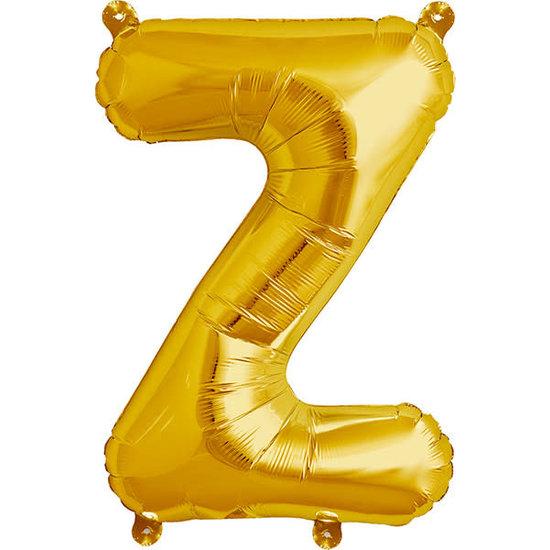 Northstar Ballon - letters - goud - 40 cm - Northstar - Z