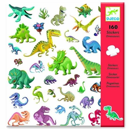 Djeco Djeco stickers dinosaurus 160 stuks