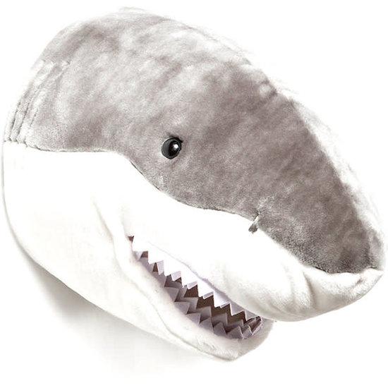 Bibib - Wild and Soft Animal head - trophy - Shark Jack - Bibib - Wild and Soft