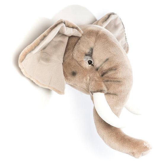 Bibib - Wild and Soft Dierenkop - trofee - olifant George - Bibib - Wild and Soft