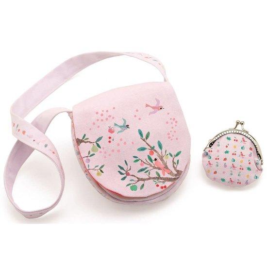 Djeco Enchanting shoulder bag and purse - Summer garden - Djeco