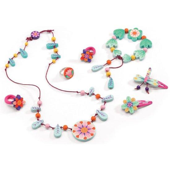Djeco Prachtige juwelenset - Bloemenparadijs - Djeco