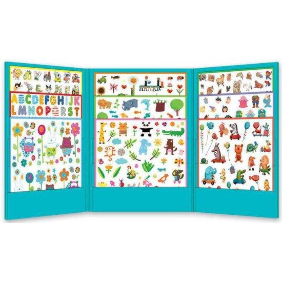 Djeco Super leuke stickerset  - 1000 stickers voor de jongens - Djeco