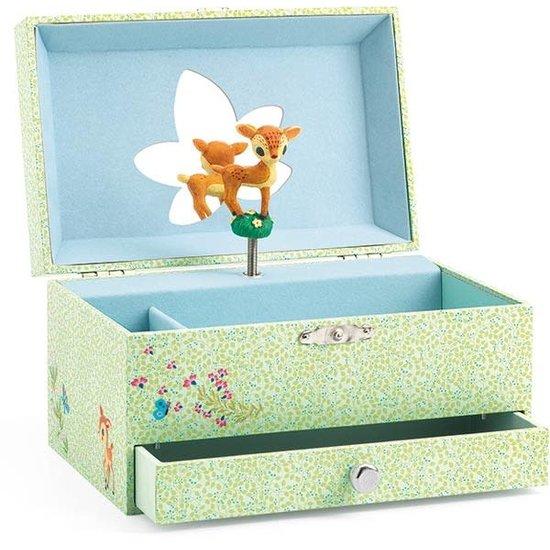 Djeco Djeco juwelendoos - muziekdoosje Bambi