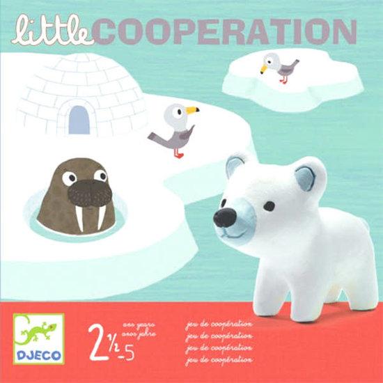 Djeco Djeco Little Cooperation Noordpool gezelschapsspel