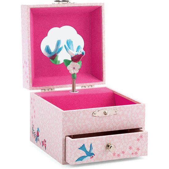 Djeco Music box - jewellery box Chaffinch's melody - Djeco