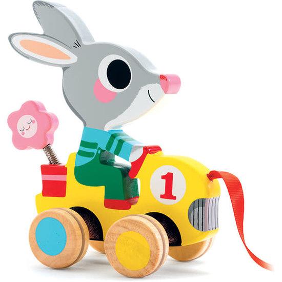 Djeco Djeco Roulapic trekdier konijn