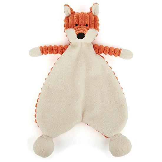 Jellycat Doudou - knuffeldoekje - Jellycat - cordy roy - vos
