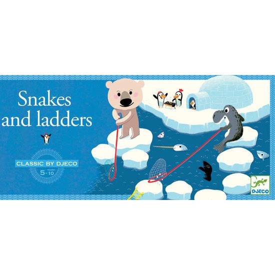 Djeco Djeco gezelschapsspel Slangen en ladders