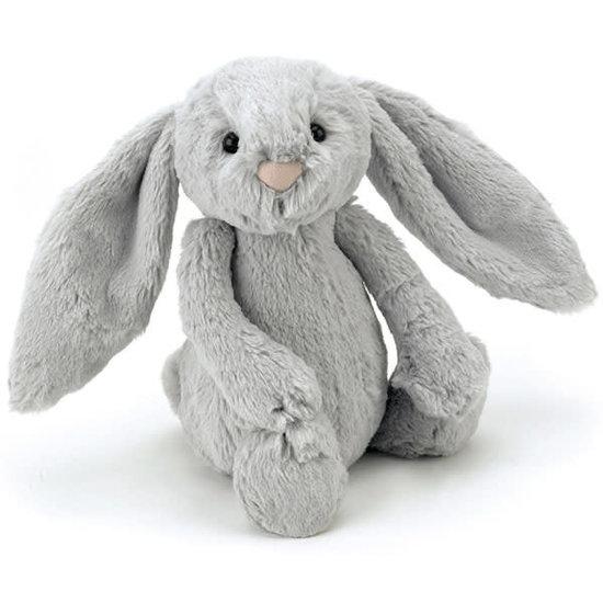 Jellycat Jellycat Bashful Bunny cuddly toy medium silver