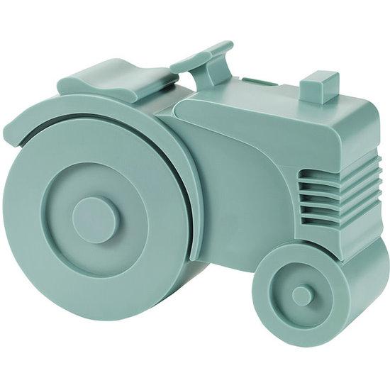 Blafre Lunchbox tractor blauw - Blafre