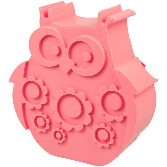 Blafre Lunchbox uil roze - Blafre