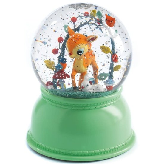 Djeco Djeco nachtlampje sneeuwbol hert