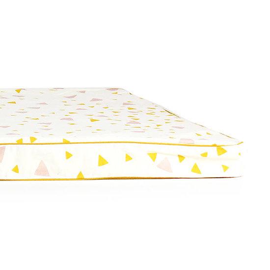 Nobodinoz tipi en accessoires Nobodinoz mattress Saint Tropez pink honey sparks