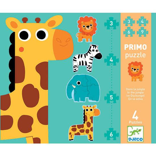 Djeco Djeco Primo Puzzle Dschungel