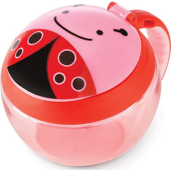 Skip Hop Skip Hop snackdoosje - snack cup - lieveheersbeestje