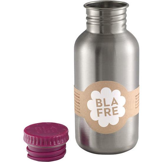 Blafre Drinking bottle 500 ml - plum red - Blafre