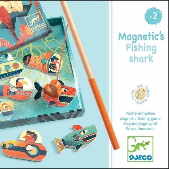 Djeco Djeco - magnetisches Angelspiel - Fishing Shark