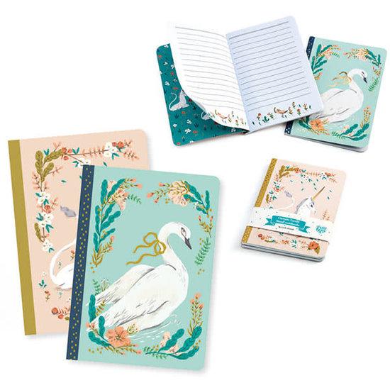 Djeco Djeco - notitieboekjes - 2 notebooks Lucille