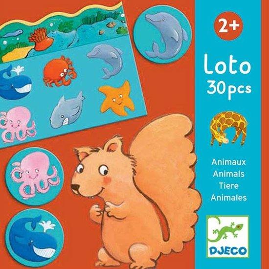 Djeco Djeco - Lotto der Tiere +2 Jahre