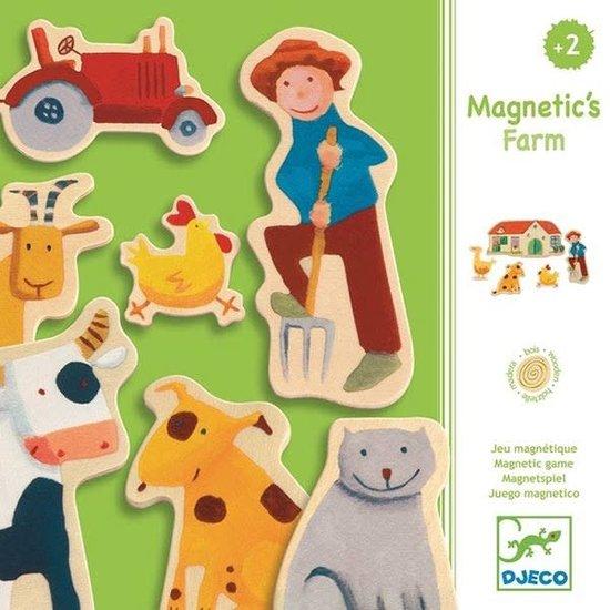 Djeco Magnete - Bauernhof - Djeco - 24 Stück