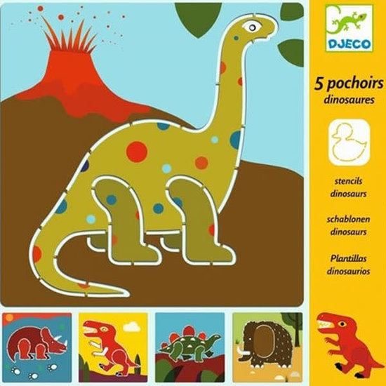 Djeco Stencils - dinosaurs - Djeco