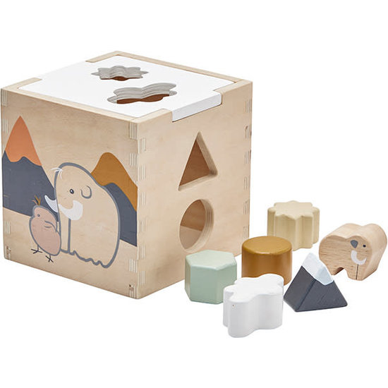 Kid's Concept Shape sorter - Neo - Kids Concept +1yr