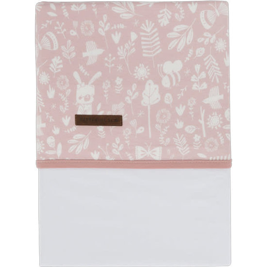 Little Dutch Little Dutch crib - bassinet sheet Adventure Pink