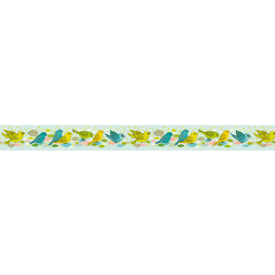 Djeco Djeco - Washi tape - Masking tape Elodie - plakband - 1.5cm x 10m