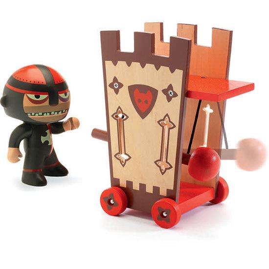 Djeco Djeco - Arty Toys actiefiguur - Darius en Ze Attack Tower