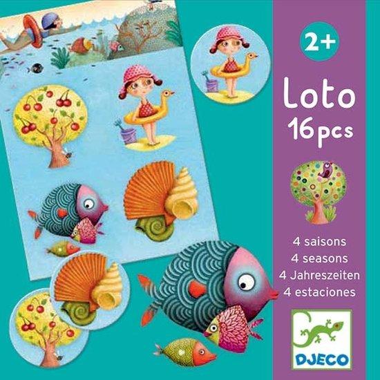Djeco Lotto - 4 seizoenen - Djeco