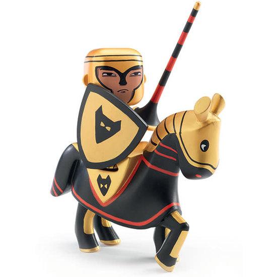 Djeco Djeco - Arty Toys Spielfigur - Ritter mit Pferd Lord Neka