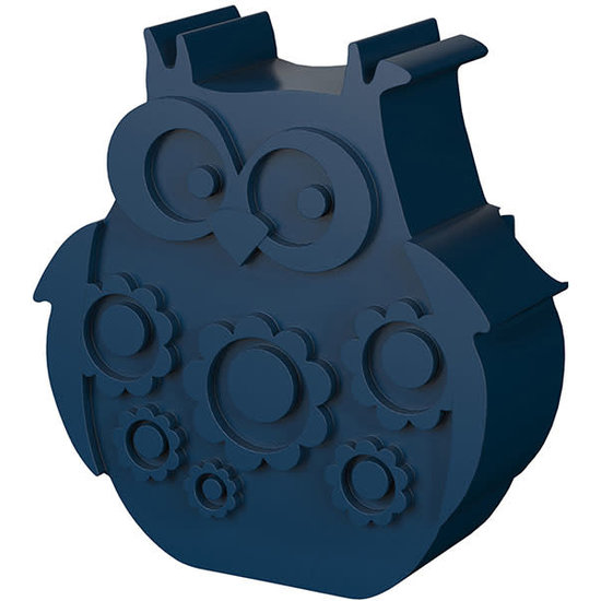 Blafre Lunchbox Eule Navy blau - Blafre