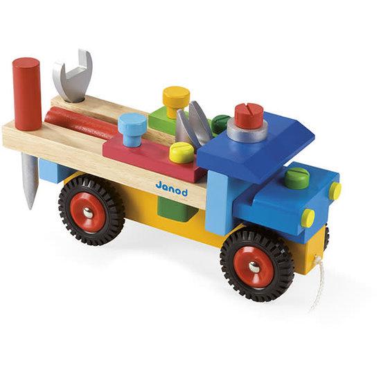 Janod speelgoed Janod - DIY LKW Spielzeug +2 Jahre