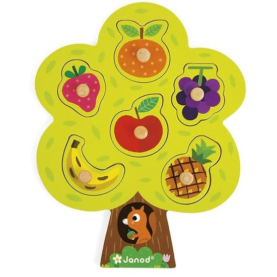 Janod speelgoed Janod - legpuzzel - fruitboom