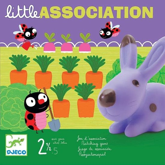 Djeco Djeco - Gesellschaftsspiel Little Association +2.5 Jahre
