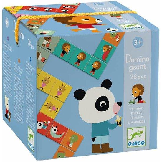 Djeco Djeco - domino - Géant - vrienden - puzzel +3jr