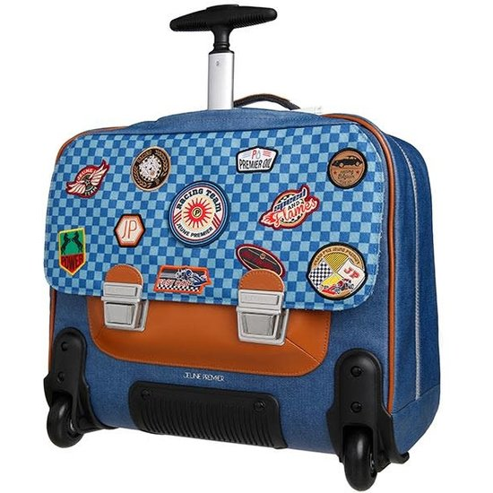 Jeune Premier boekentas School bag - trolley - it bag Racing - Jeune Premier