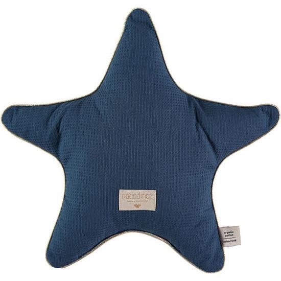 Nobodinoz tipi en accessoires Nobodinoz ster kussen Aristote - Elements - Night Blue
