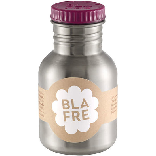 Blafre Drinking bottle 300 ml - plum red - Blafre